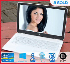 HP Pavilion 15 15.6'' Touch Intel i5 @ 2.8Ghz 8Gb 750GB Win 10 Office Antivi B&O