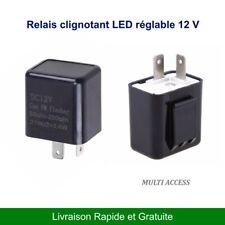 Relais clignotant LED Centrale 12 V Moto 2 broches vitesse réglable