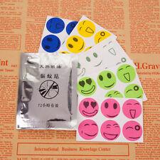 30Pcs Summer Anti Mosquito Insect Smiley Mosquito Repellent Stickers Citronella