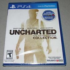 Uncharted Nathan Drake Collection for Playstation 4 Brand New! Factory Sealed!