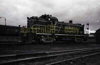 CRIP Rock Island ALCO RS3 Locomotive #487 - Vintage Railroad Negative
