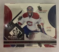 2008-09 Upper Deck SP Game Used Factory Sealed Hockey Hobby Box
