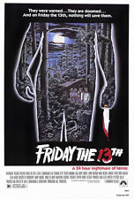 "Friday The 13th Poster - 24"" x 36"""