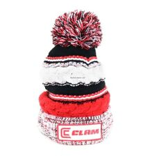 *NEW Ice Armor Clam Red Pom Ice Fishing Hat 10958