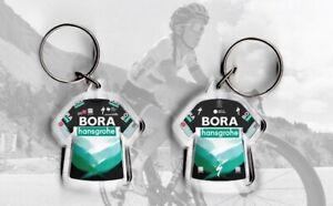 TEAM Bora t-shirt / jersey keyring cycling, Tour de France Peter Sagan