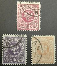 LITHUANIA STAMPS - Coat of Arms - 1st Berlin Edition, 1919, used