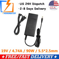 90W Laptop AC Adapter Charger Power Supply for Toshiba Satellite A505 A505D A665