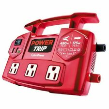 NEW CyberPower Auto/Car PowerTrip 480 Power Inverter Cyber Power USA w/USB