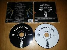 Longshot – Civil War Part II (EV Records)(The Mixtape CD & DVD) MINT