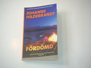 Skräckthriller, Schwedischer Roman, Svensk Pocket, J. Hildebrandt:  Fördömd