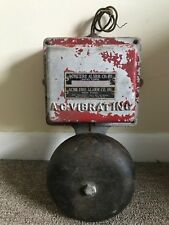 Vintage Acme Fire Alarm Co & Bell A.C. Vibrating New York N.Y.