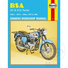 BSA A10 650 Rocket Gold Star 1961-1962 Haynes Service Repair Manual 0121