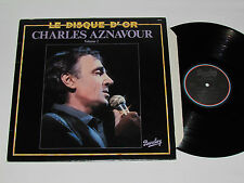 CHARLES AZNAVOUR Le Disque D'or Volume 2 LP 1980 Barclay Records 55510 Vinyl VG