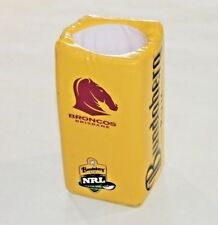 Bundaberg Rum Brisbane Broncos NRL Goal Post Cooler Holder Rare Memorabilia