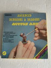 GRENADIER*TSR*Advanced Dungeons & Dragons Action Art #8001 Metal Miniature Set