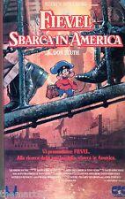 Fievel sbarca in America  (1986) VHS Universal 1a Ed.   Spielberg Don Bluth
