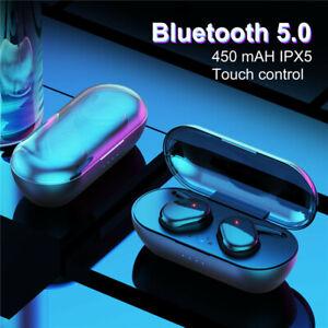 Inalámbricos Bluetooth TWS Auriculares Deportivos Estéreo Cancelación de ruido
