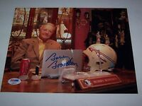 BOBBY BOWDEN Signed FLORIDA STATE RARE DESK PHOTO PSA CERTIFIED AUTOGRAPH