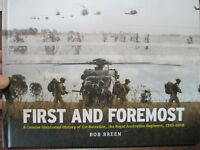 First & Foremost 1 RAR Illustrated History Korea to Afghanistan New Aust BooK