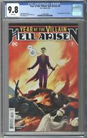 YEAR OF THE VILLAIN HELL ARISEN 3 CGC 9.8 1ST FULL APP OF PUNCHLINE 1st Print