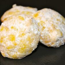 Lemon Butter Cookies (1 pound- approximately 45 bite size cookies)