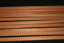 Honduras Mahogany kerfed linings--set of ten by Penta Guitarworks Made in USA