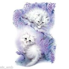 Mischief Kitten Cat Heat Press Transfer for T Shirt Tote Sweatshirt Fabric #274