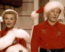 "VERA ELLEN DANNY KAYE WHITE CHRISTMAS 1954 8x10"" HAND COLOR TINTED PHOTOGRAPH"