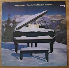 SUPERTRAMP Even In The Quietest Moments LP/DUTCH