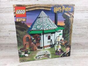 Lego Harry Potter (2001) ~ Set 4707 ~ Hagrid's Hut ~ Brand New ~ Free P&P