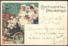 Automobile. Publicité Continental Pneumatique.
