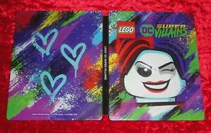 LEGO DC SUPER VILLAINS -- Steel Book Case ONLY for PS4 & XBOX One **NO GAME**