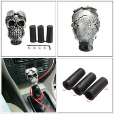 Car Resin Titanium Skull Head Manual Transmission Gear Shift Knob Shifter Lever