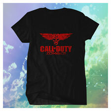 Call Of Duty WWII Playstation 4 Zombies PS4 Xbox One Mens Tshirt Shirt Tee