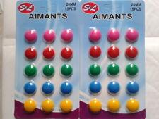 X30 Aimants Magnets Décoration Frigo Et Tableau Magnétique, Neuf Sous Blister