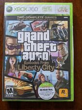 New listing Grand Theft Auto: Episodes From Liberty City Xbox 360 White Label Sealed Damaged