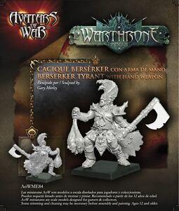 AVATARS OF WAR - AOW84 Berserker Tyrant with Hand Weapon *Warhammer Style*