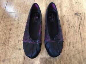 Adidas sleek series rare purple ballerina flats UK 5 / 38