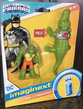 Imaginext DC Super Friends K.Croc & Crocodile Toy NIP Fisher Price Batman Killer