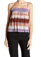Madewell Women's Texture And Thread Micropleat Multicolor Tank Top Size Medium