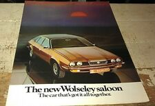 1975 WOLSELEY SALOON  Sales Brochure