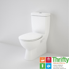 Caroma Stirling Wall Faced Toilet Suite Back or Bottom Inlet White