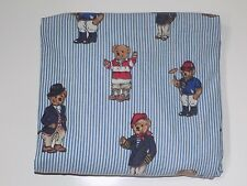 Ralph Lauren Polo Bear Twin Fitted Bed Sheet