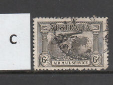 1931 Kingsford Smith 6d Airmail Good Used.