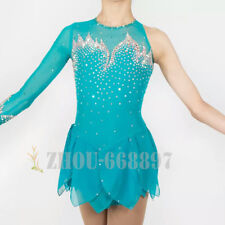 Custom Girls Adult Figure Skating Dress Performance Competition Grade Dress