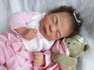 SLEEPING Reborn Baby GIRL Doll - ELISA MARX AURELIA-   FULL LIMBS