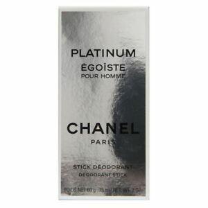 Chanel Egoiste Platinum Deodorant 75ml Stick Boxed