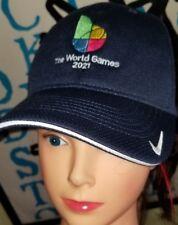 Nwt Rare 2021 the World Games Birmingham Alabama Hat Cap Nike blue