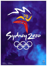 SYDNEY AUSTRALIA 2000 Summer Olympic Games Official Olympic Museum POSTER Print