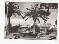 Brindisi Giardini e Porto RP Postcard Italy 697a